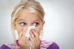 Charleston Allergy - young girl tissue